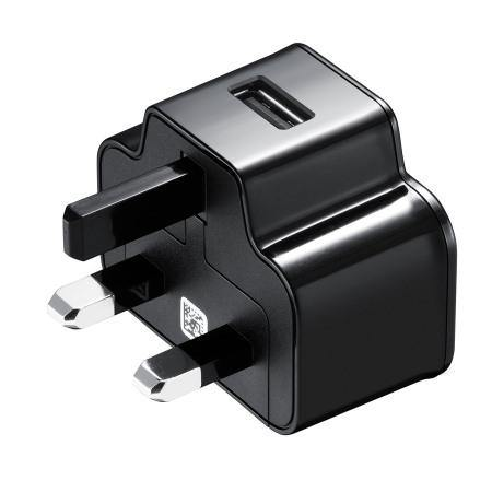 Samsung Galaxy S4 Mains Charger With MicroUSB Cable Black - ETA-U90UBEG - Uk Mobile Store