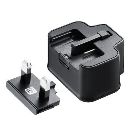 Genuine Samsung Galaxy UK Mains Charger with USB Cable - 2 Amp - Black - Uk Mobile Store
