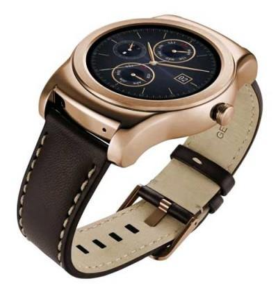 LG Watch Urbane for Android Smartphones - Gold - Uk Mobile Store