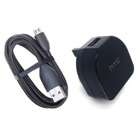 Official HTC TC B270 Charger Adapter With Micro USB Data Cable - Uk Mobile Store