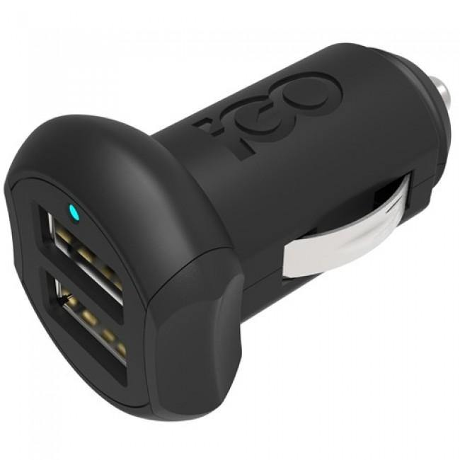 iGo Dual USB iPhone 5 / 5S / 5C Fast Charge USB Car Charger