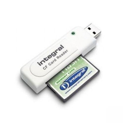 Integral Single Slot USB Compact Flash Memory card Reader - Uk Mobile Store