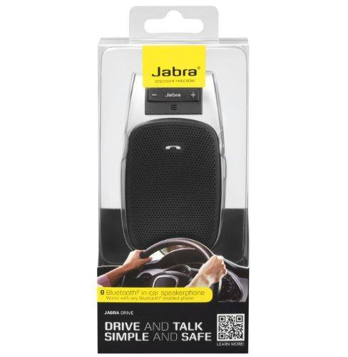Jabra Drive Bluetooth Car Kit Speakerphone Black - Uk Mobile Store