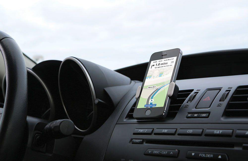 Kenu Airframe Portable Car Vent Mount for iPhone - Black/Grey