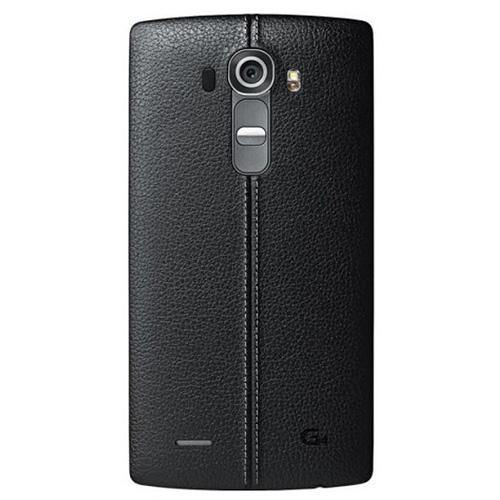 LG G4 Leather Replacement Back Cover Black - Uk Mobile Store