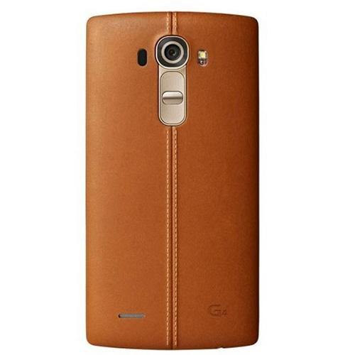 LG G4 Leather Replacement Back Cover Brown