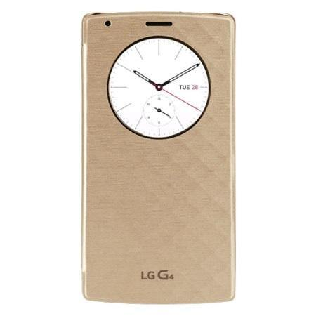 LG G4 QuickCircle Qi Replacement Back Cover Case - Gold - Uk Mobile Store