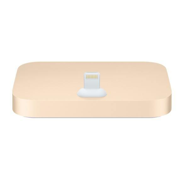 Official Apple iPhone Lightning Dock Gold