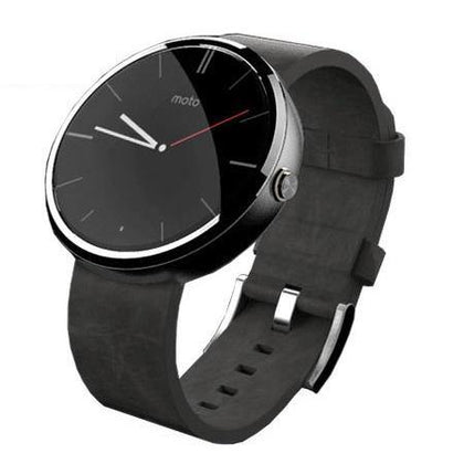 Motorola Moto 360 SmartWatch Black Leather - Uk Mobile Store