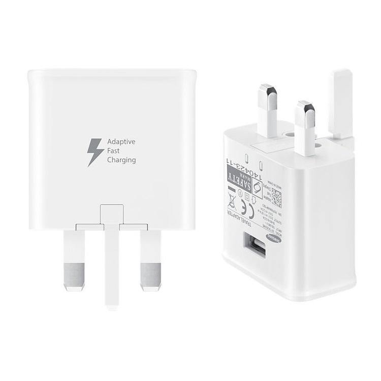 Official Samsung Galaxy S6 / S6 Edge Fast Charger With Micro USB Cable White EP-TA20UWE - Uk Mobile Store