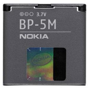 Genuine Nokia 6500 Slide Battery - BP-5M - Uk Mobile Store