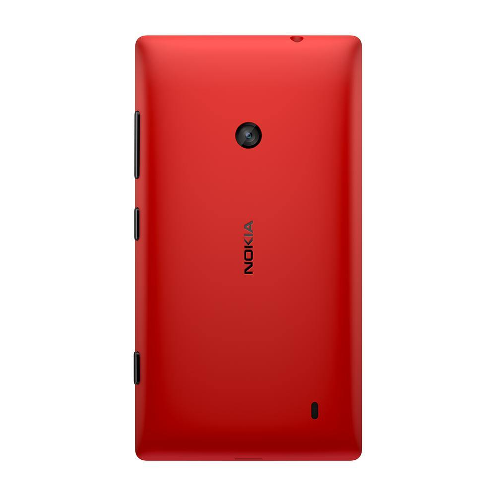Genuine Nokia Lumia 520 Battery Back Cover Red