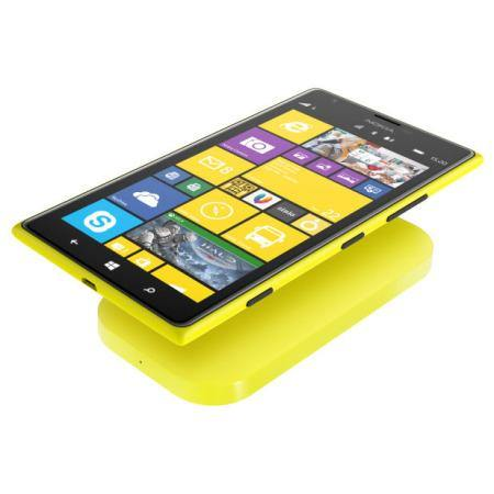 Nokia Portable Wireless Charging Plate DC-50 2400mAh - Yellow