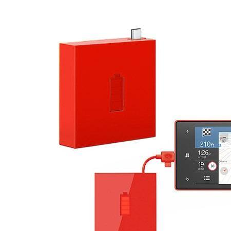 Nokia DC-18 Universal Portable Micro USB Charger Red