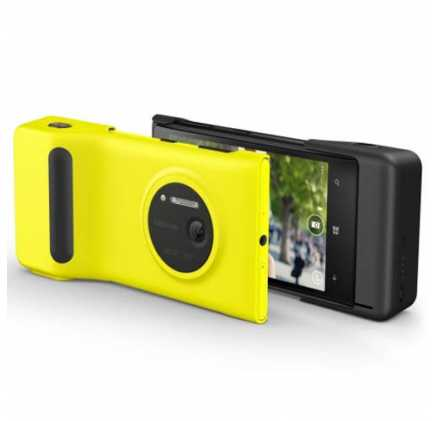 Official Nokia Lumia 1020 Camera Grip Yellow - PD-95G