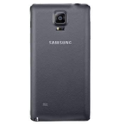 Samsung Galaxy Note 4 Back Cover Charcoal Black - EF-ON910SCEG
