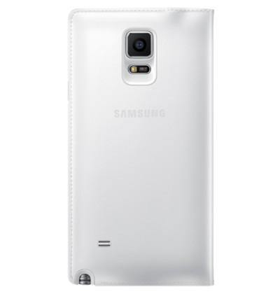 Samsung Galaxy Note 4 Flip Wallet Cover - Smooth White - Uk Mobile Store