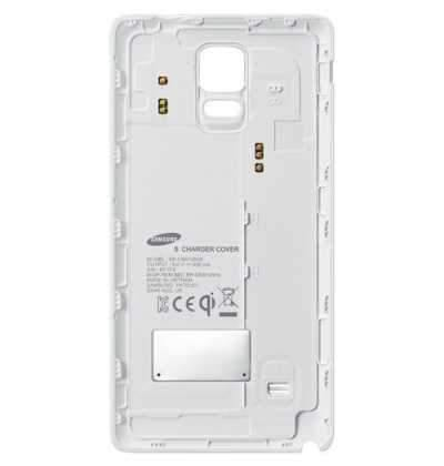Samsung Galaxy Note 4 Qi Wireless Charging Cover - White