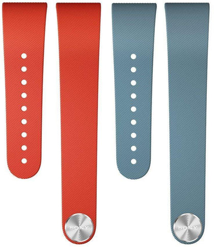 Sony SWR310 SmartBand Talk Wrist Strap Red Blue for Black Small