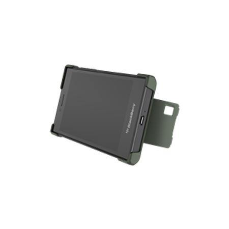Official Blackberry Leap Flex Shell Case Military Green - ACC-60114-003