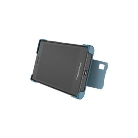 Official Blackberry Leap Flex Shell Case Storm Blue - ACC-60114-002
