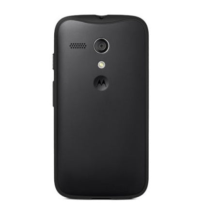 Official Motorola Moto G Grip Shell Case - Black