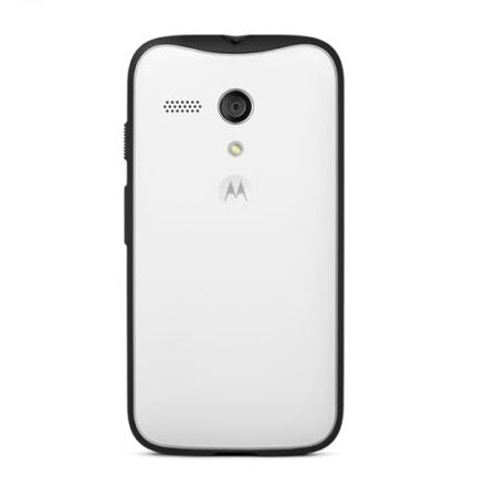 Official Motorola Moto G Grip Shell Case - Chalk