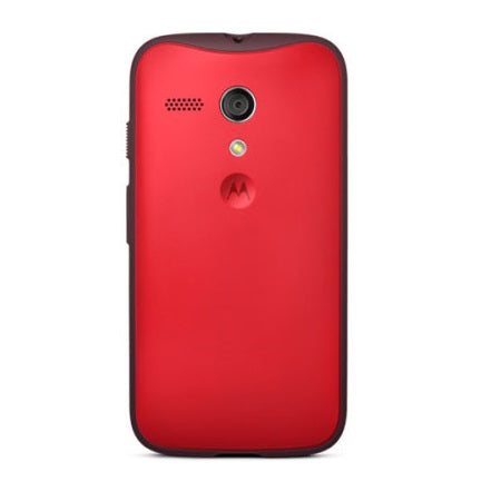 Official Motorola Moto G Grip Shell Case - Cherry