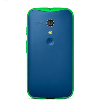 Official Motorola Moto G Grip Shell Case - Royal Blue