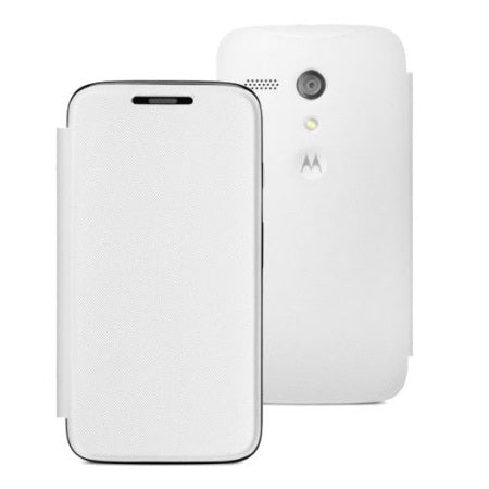 Official Motorola Moto G Flip Cover - White