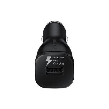 Official Samsung Galaxy A42 5G Fast Car Charger with Type USB-C Cable Black - Uk Mobile Store