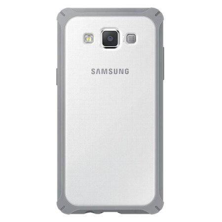 Samsung Galaxy A5 Protective Cover Plus Case - Light Grey - Uk Mobile Store