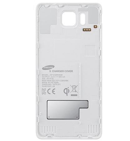 Samsung Galaxy Alpha Qi Wireless Charging Cover - White