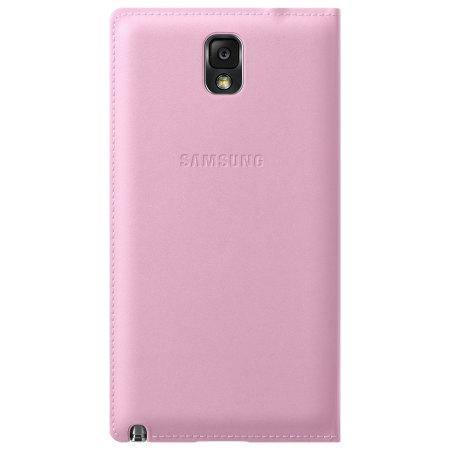 Samsung Galaxy Note 3 Flip Wallet Cover - Blush Pink