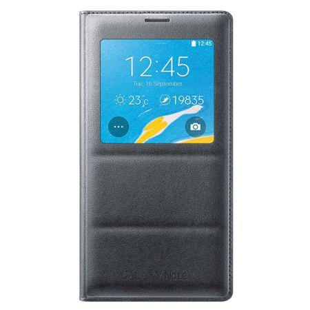 Samsung Galaxy Note 4 S View Wireless Charging Cover Black