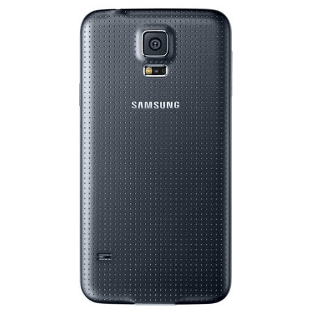 Official Samsung Galaxy S5 Battery Back Cover Charcoal Black
