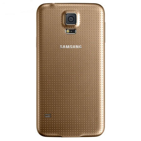 Official Samsung Galaxy S5 Battery Back Cover Copper Gold