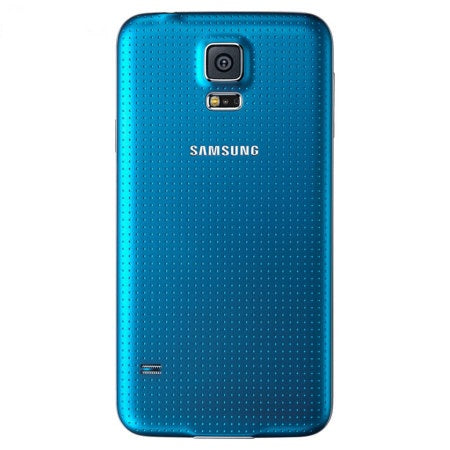 Official Samsung Galaxy S5 Battery Back Cover Electric Blue