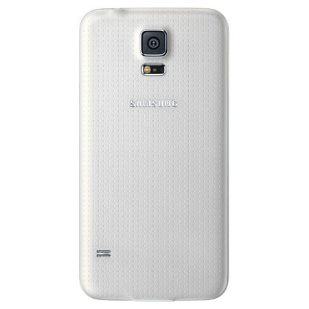 Official Samsung Galaxy S5 Battery Back Cover Shimmery White