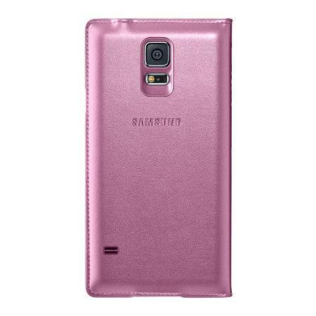 Samsung Galaxy S5 Flip Wallet Cover - Pink - Uk Mobile Store