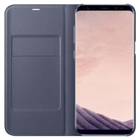 cover samsung s8 led