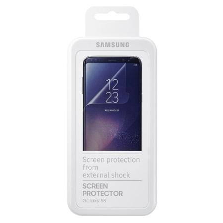 Official Samsung Galaxy S8 Screen Protector - Twin Pack
