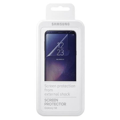 Official Samsung Galaxy S8 Screen Protector - Twin Pack - Uk Mobile Store
