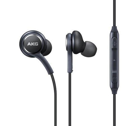 Official Samsung Galaxy S8 S8+ S9 S9+ Earphones in Black - Uk Mobile Store