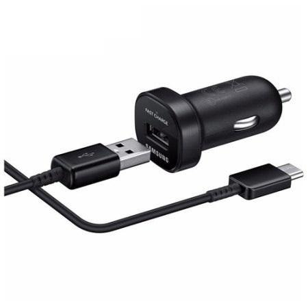 Official Samsung Galaxy M21 Mini Car Adaptive Fast Charger Black