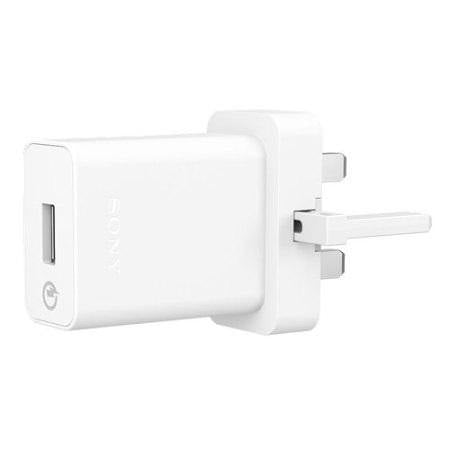 Sony UCH10 Qualcomm 2.0 Quick Mains Charger & Cable - White - Uk Mobile Store