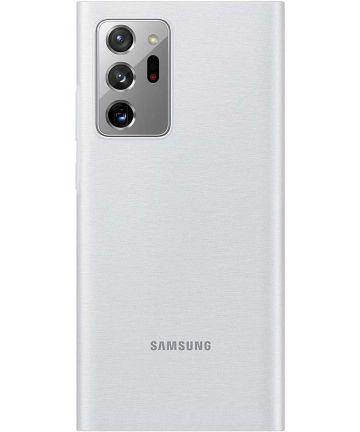 Official Samsung Galaxy Note 20 Ultra LED Cover Case - Mystic Grey - Uk Mobile Store