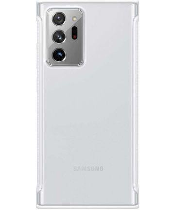 Official Samsung Galaxy Note 20 Ultra Protective Case - Clear / White