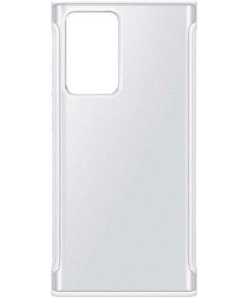Official Samsung Galaxy Note 20 Ultra Protective Case - Clear / White - Uk Mobile Store