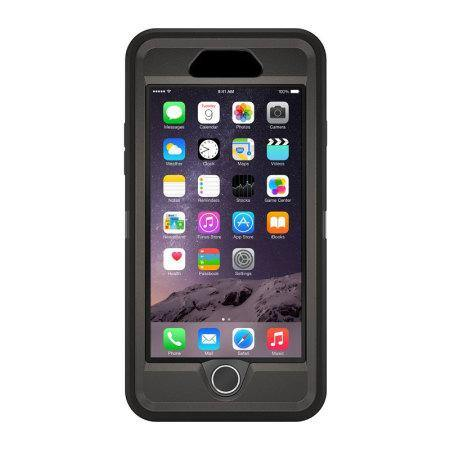 OtterBox iPhone 6 Plus Defender Series Case - Black - Uk Mobile Store